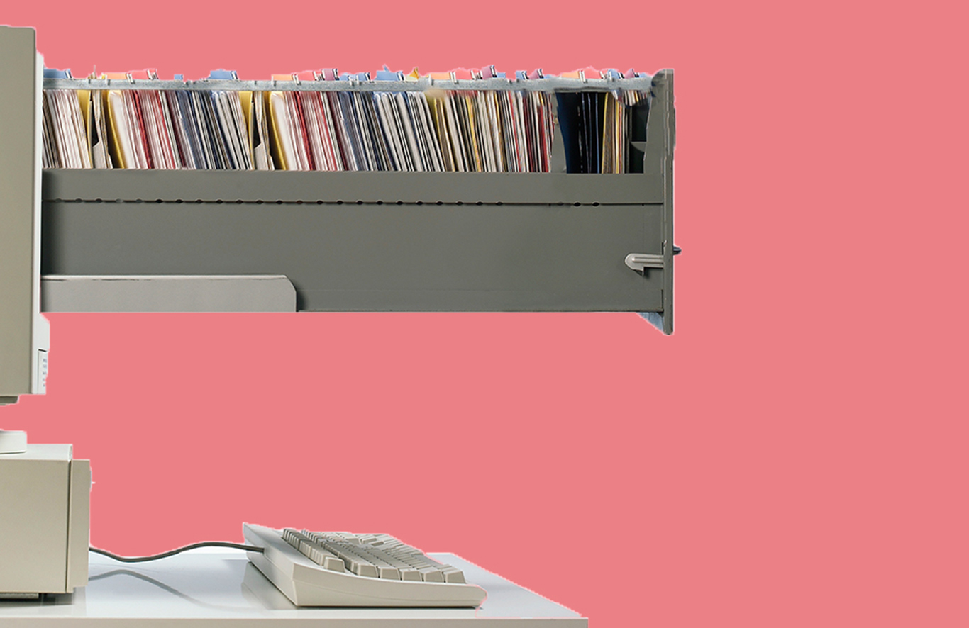 EMR replacing physical records