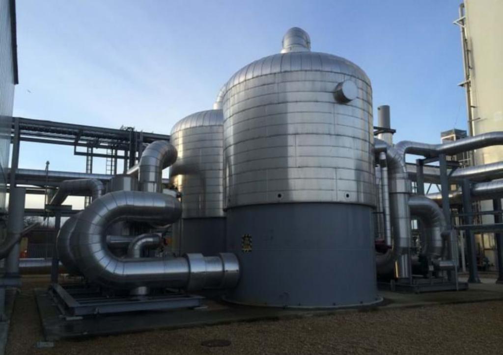 Cryogenic distillation plant