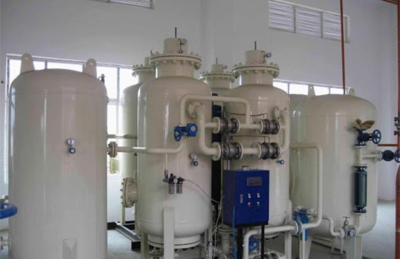 An onsite oxygen generation plant